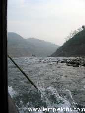 We sail through the rapids
