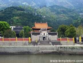 Ancient temple gate