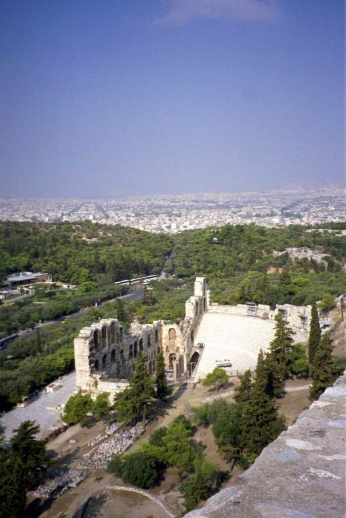 The theatre at the Acropolis  Remember Yanni live at the